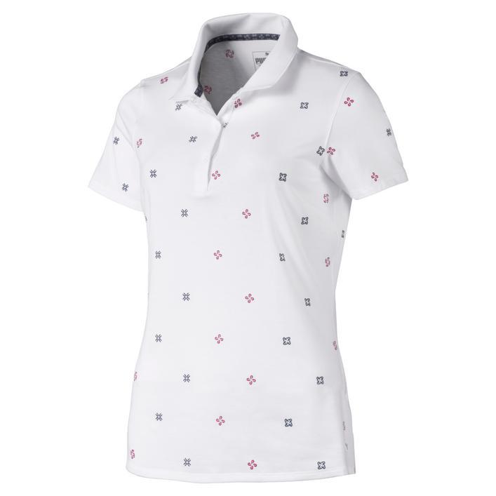 Women's W Disty Short Sleeve Polo