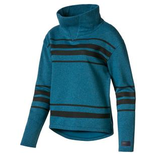 Women's Slouchy Fleece Sweater
