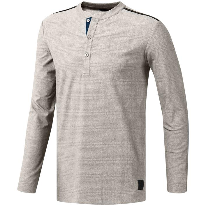Men's adicross Henley Long Sleeve Shirt