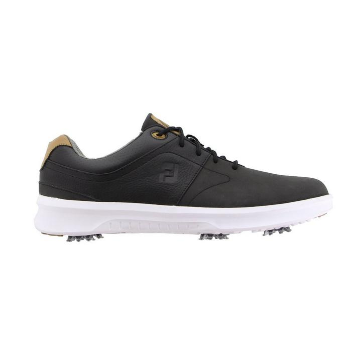Men's Contour Spiked Golf Shoe - Black