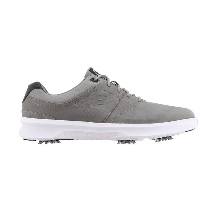 Men's Contour Spiked Golf Shoe - Grey