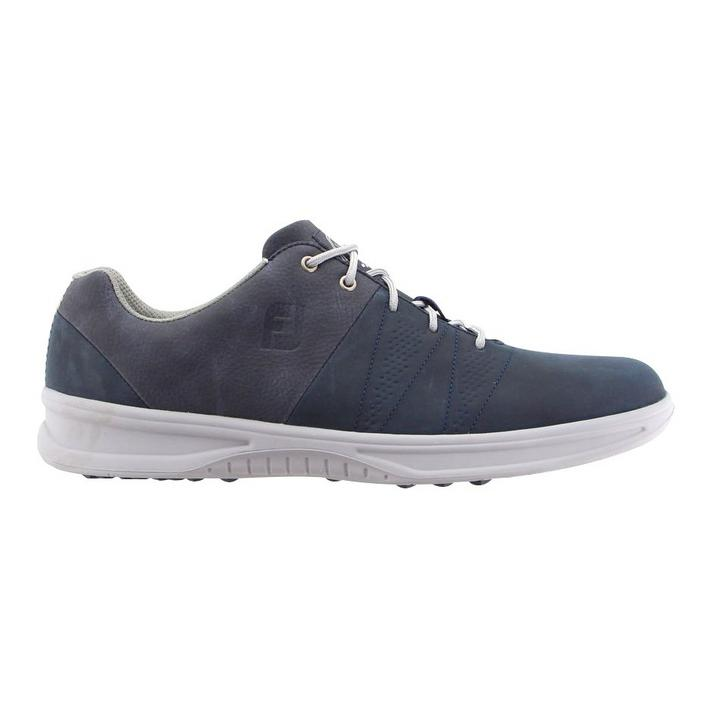 Men's Contour Casual Spiked Golf Shoe - Navy