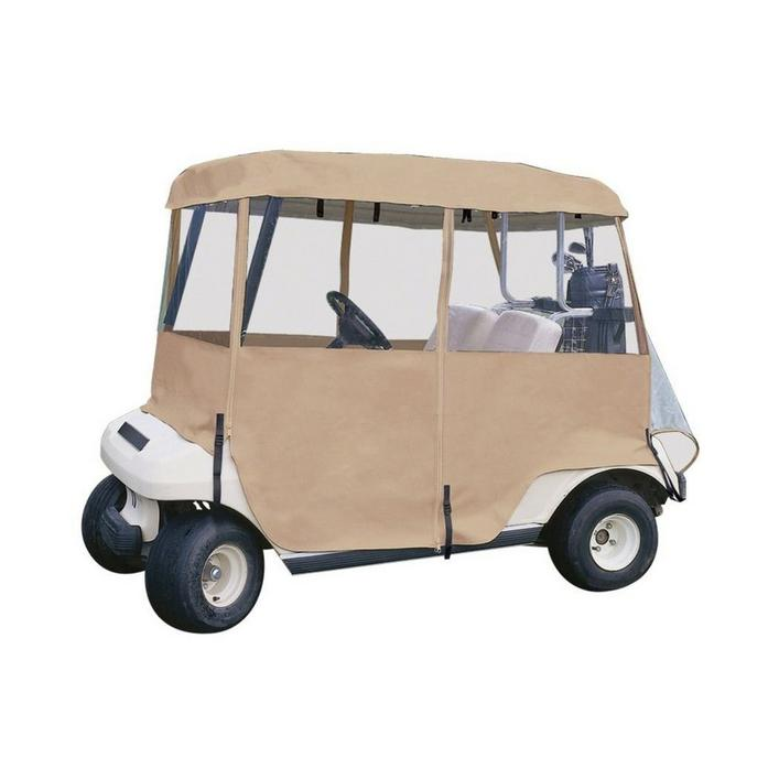 Delux 4-Sided Golf Cart Enclosure