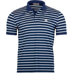Men's Wide Stripe Short Sleeve Shirt