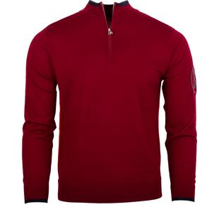 Men's Tipped 1/4 Zip Sweater