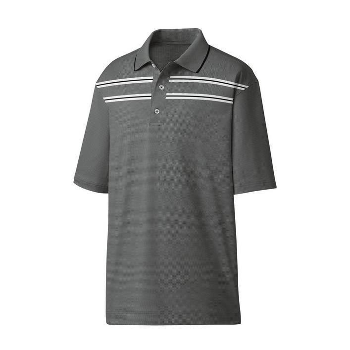 Men's Birdseye Space Dye Jacquard Short Sleeve Shirt