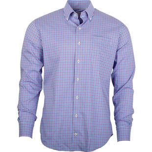 Men's Check Woven Long Sleeve Shirt