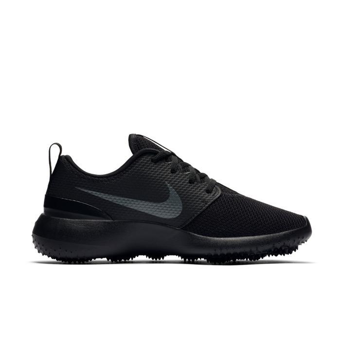 Chaussures Roshe G sans crampons pour femmes - Noir/Gris foncé