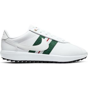 Chaussures Cortez G sans crampons pour femmes - Blanc/Vert/Rouge
