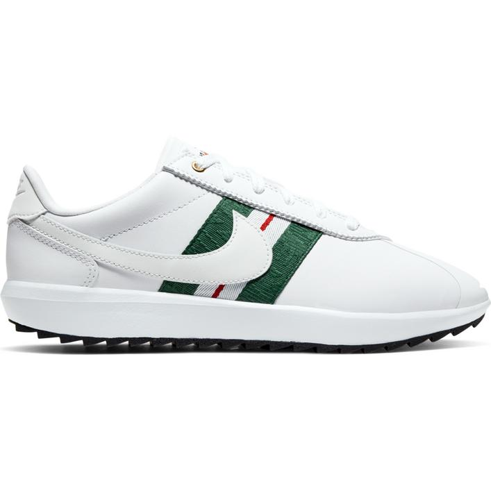 Women's Cortez G Spikeless Golf Shoe - White/Green/Red