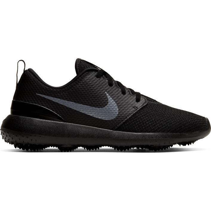 Junior Roshe G Spikeless Golf Shoe - Black/Dark Grey