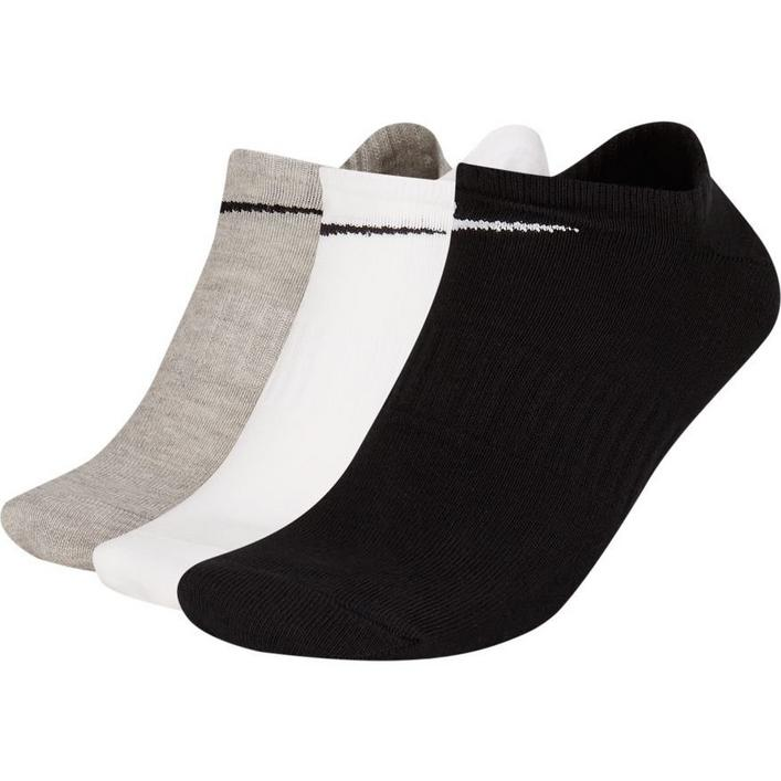Men's Everyday Lightweight No Show Socks - 3 Pack
