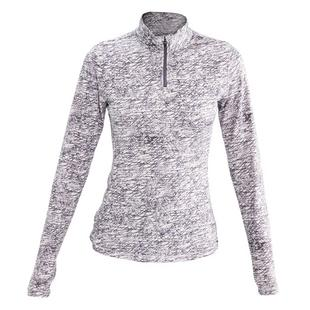 Women's Striking Quarter Zip Long Sleeve Top