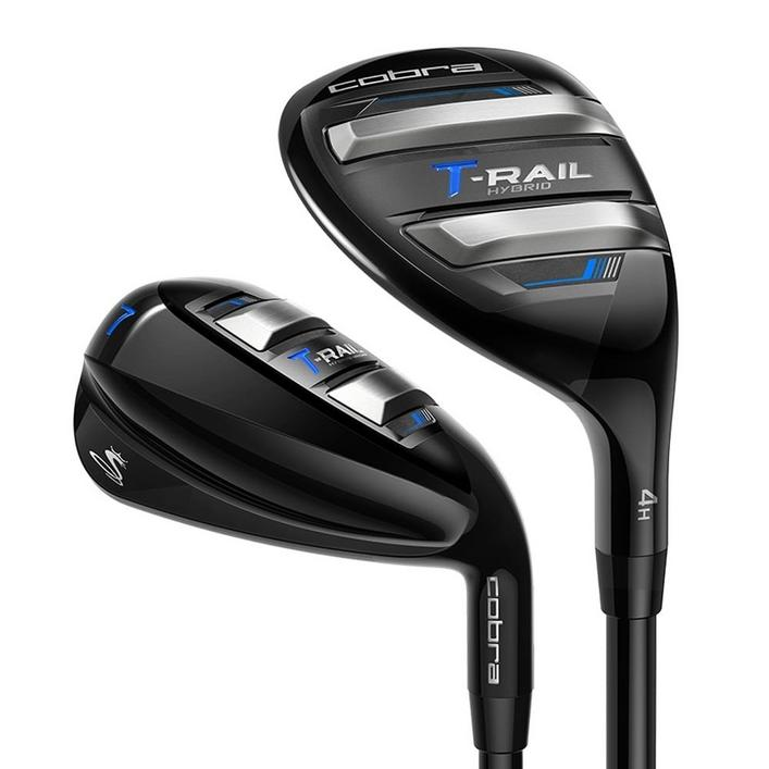 T-RAIL 4H 5H 6-PW Combo Iron Set with Graphite Shafts