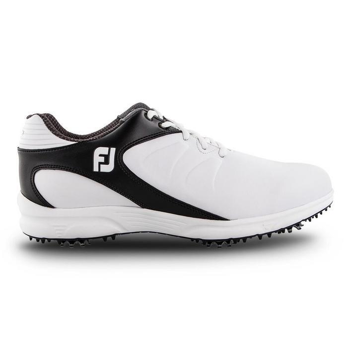 Chaussures Arc XT à crampons pour hommes - Blanc/Noir