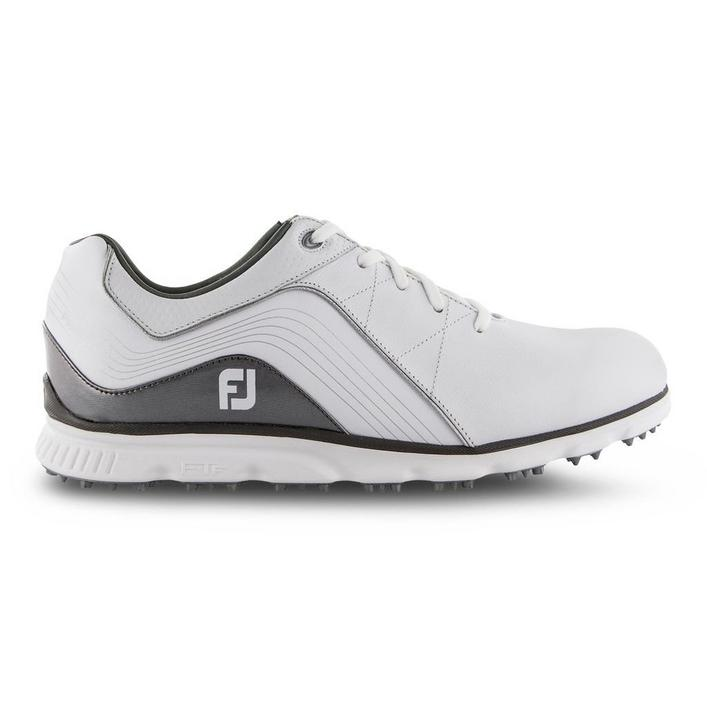 Men's Pro SL Spikeless Golf Shoe - White/Silver