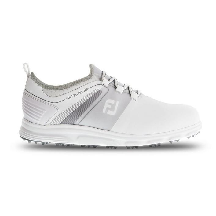 Chaussures Superlites sans crampons pour hommes - Blanc/Gris