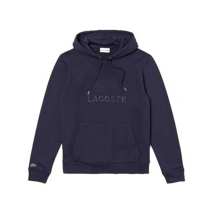 Men's Embroidered Logo Hooded Sweatshirt