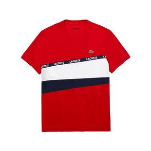 Men's Signature Band Colourblock Pique T-shirt