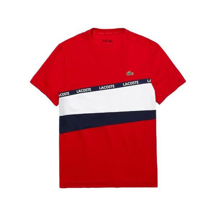 Men's Signature Band Colourblock Pique T-shirt