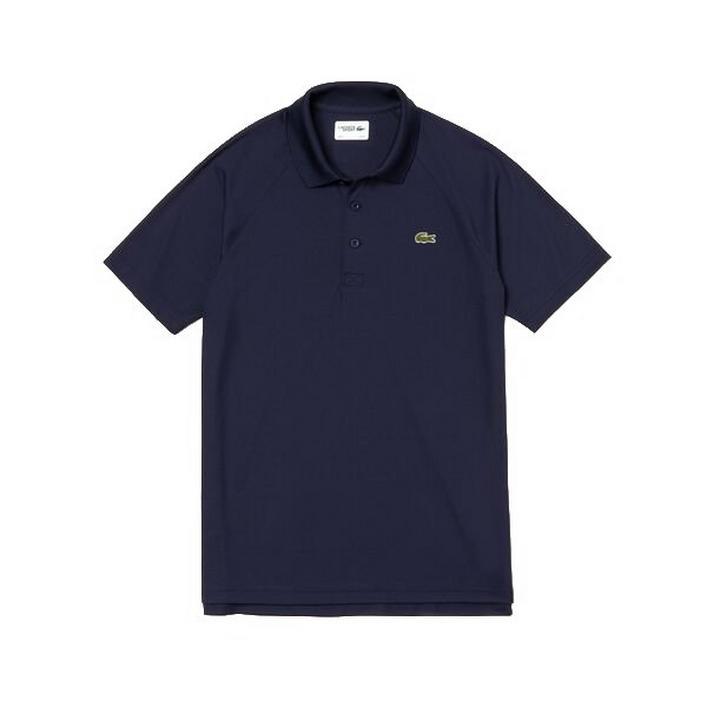 Men's Breathable Anti-UV Pique Short Sleeve Shirt