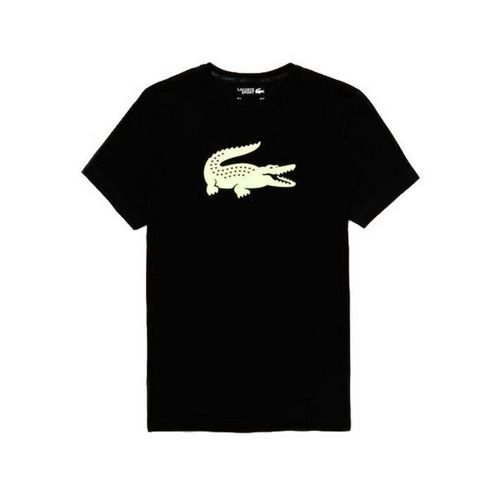 T-shirt à imprimé Croc surdimensionné pour hommes