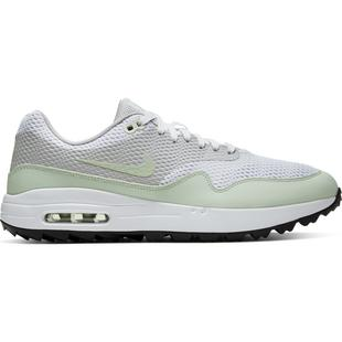 Men's Air Max 1 G Spikeless Golf Shoe - White/Light Green/Grey