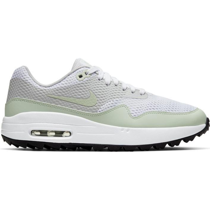 Women's Air Max 1 G Spikeless Golf Shoe - White/Light Green/Grey