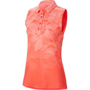 Women's Fairway Printed Sleeveless Polo