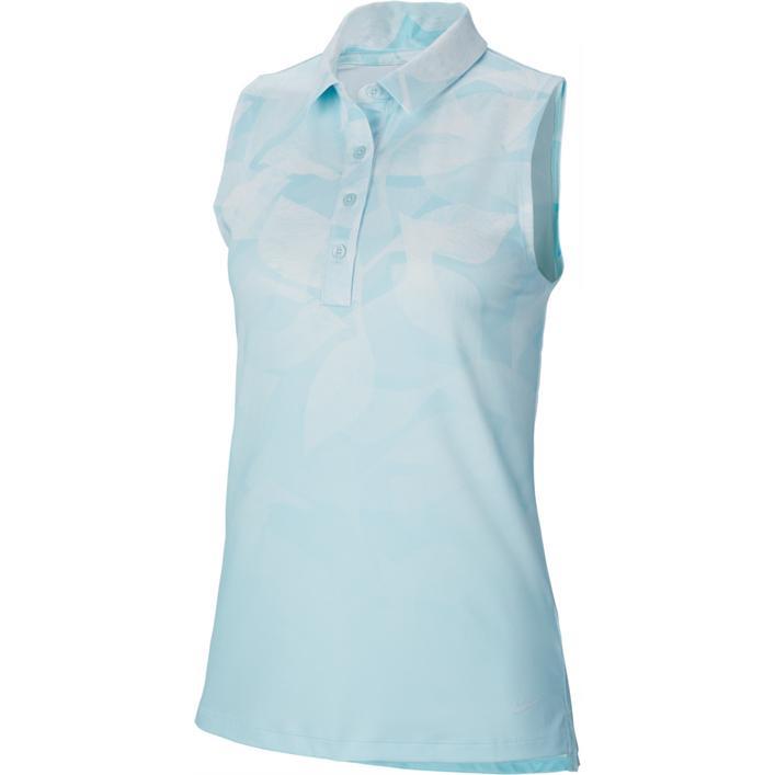 Women's Fairway Printed Sleeveless Polo