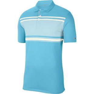 Men's Dry Player Stripe Short Sleeve Polo