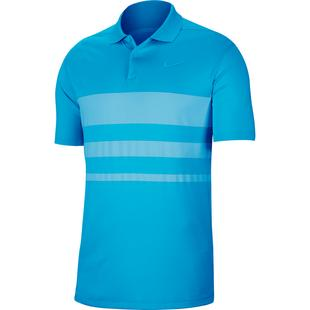 Men's Dry Vapor Stripe Short Sleeve Polo