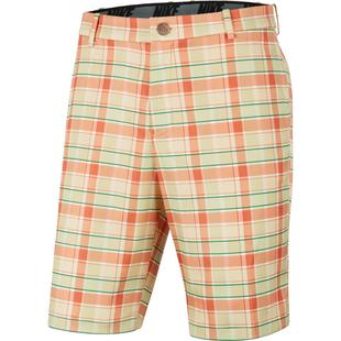 Men's Flex Core Plaid Short