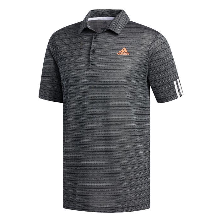 Men's Collection 0 Jacquard Stripe Short Sleeve Shirt