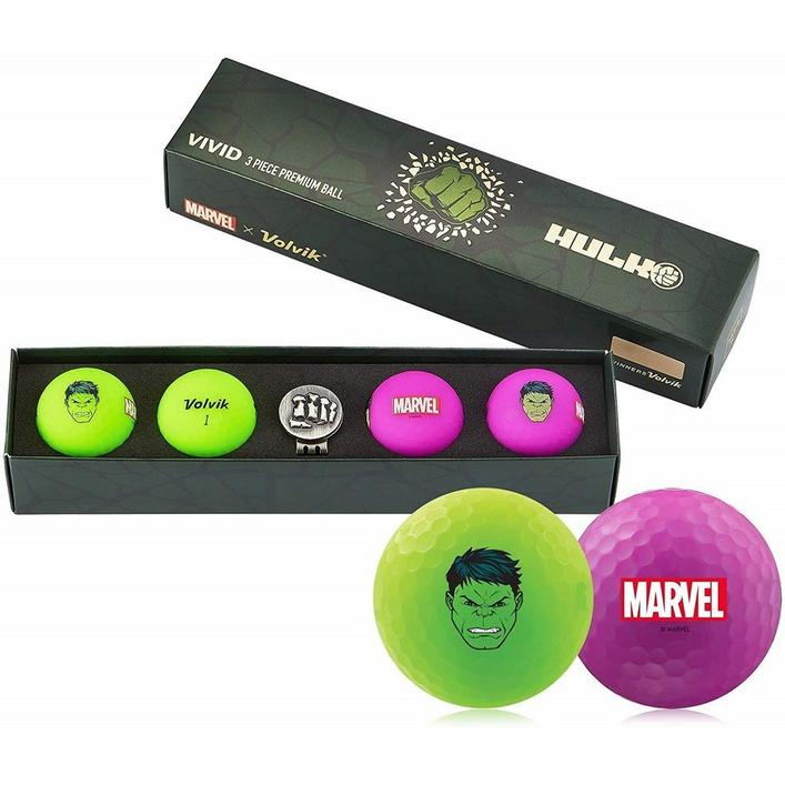 Pochette de 4 balles Vivid - Édition Marvel Hulk
