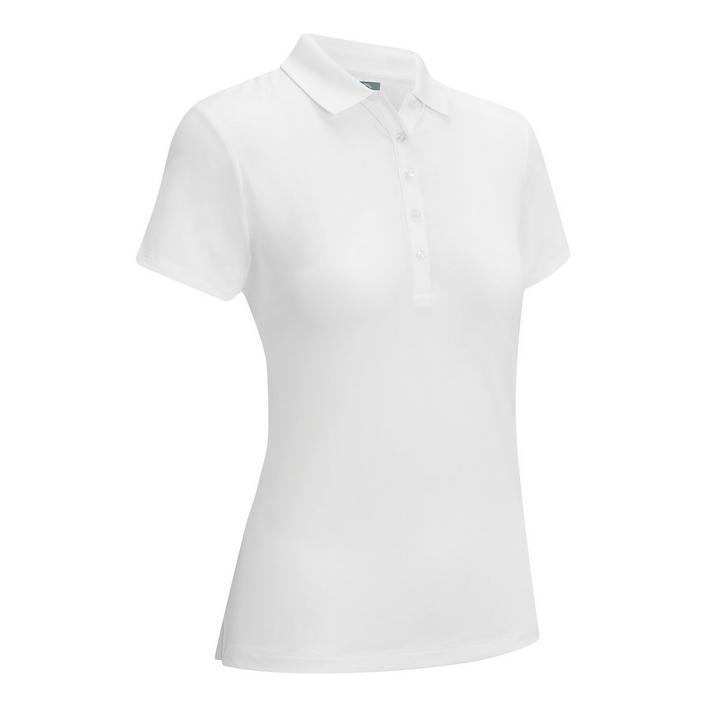 Women's Micro Hex Short Sleeve Polo