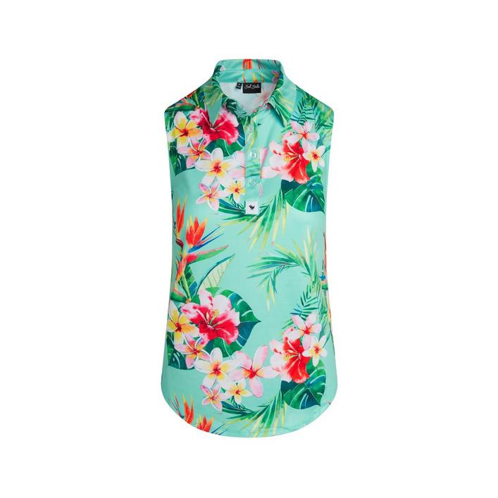 Women's Tropics Sleeveless Polo