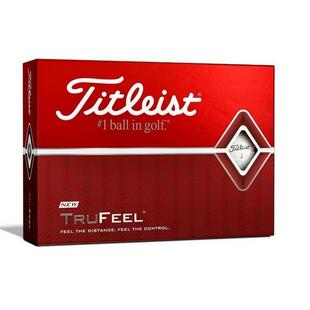 TruFeel Personalized Golf Balls - White