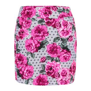 Women's Abby Garden Printed Pull-On Skort