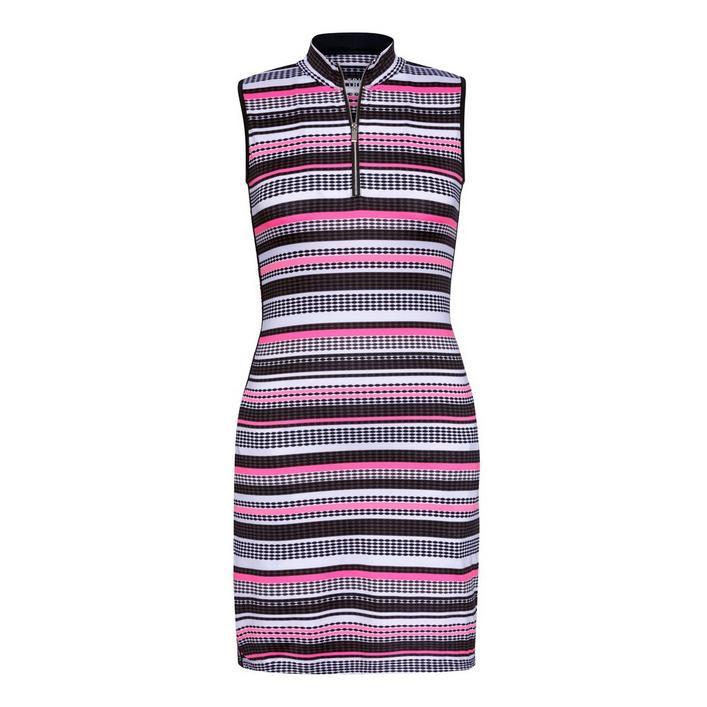 Women's Stripe Printed Sleeveless Dress