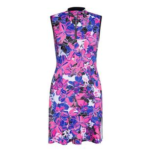 Women's Floral Printed Sleeveless Dress
