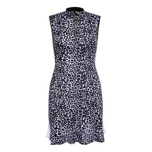 Women's Animal Printed Sleeveless Dress