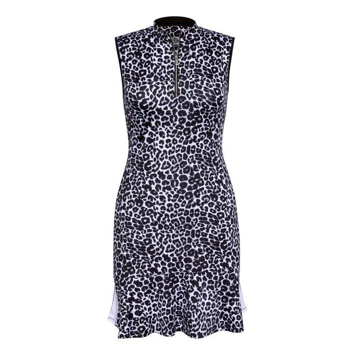 Women's Animal Printed Sleeveless Dress