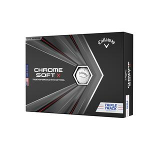 2020 Chrome Soft X Triple Track Golf Balls