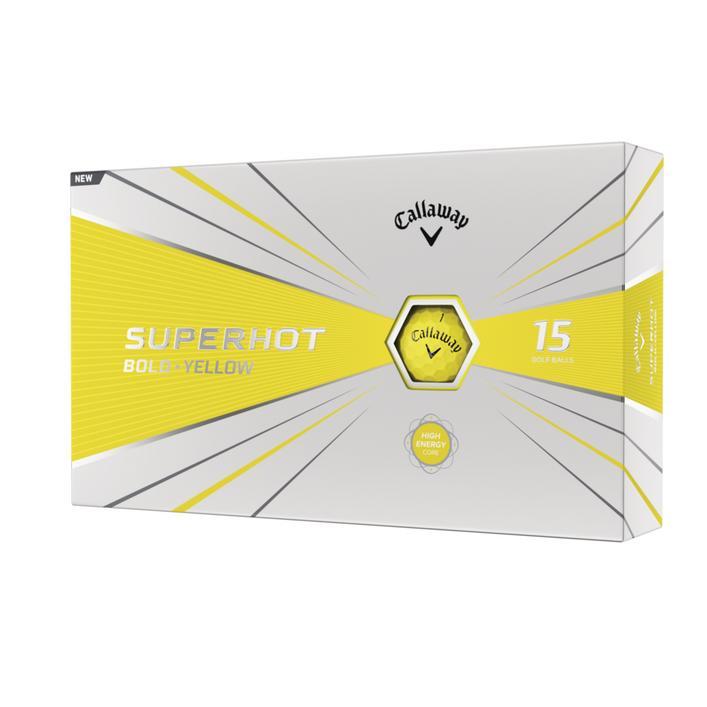 2020 Superhot Bold Golf Balls - 15pack