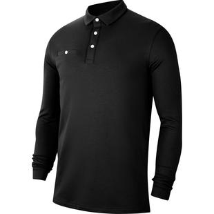 Men's Dry Player Long Sleeve Polo
