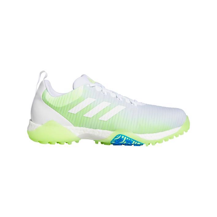 Chaussures CODECHAOS sans crampons pour hommes - Blanc/Vert/Bleu
