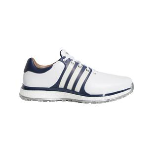 Men's Tour360 XT Spikeless Golf Shoe - White/Navy/Gold