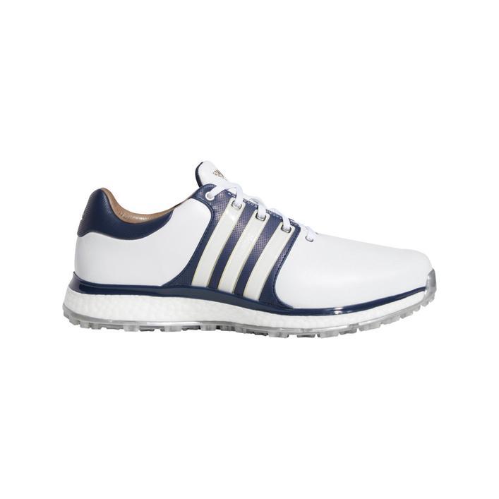Men's Tour360 XT Spikeless Golf Shoe - White/Navy/Gold