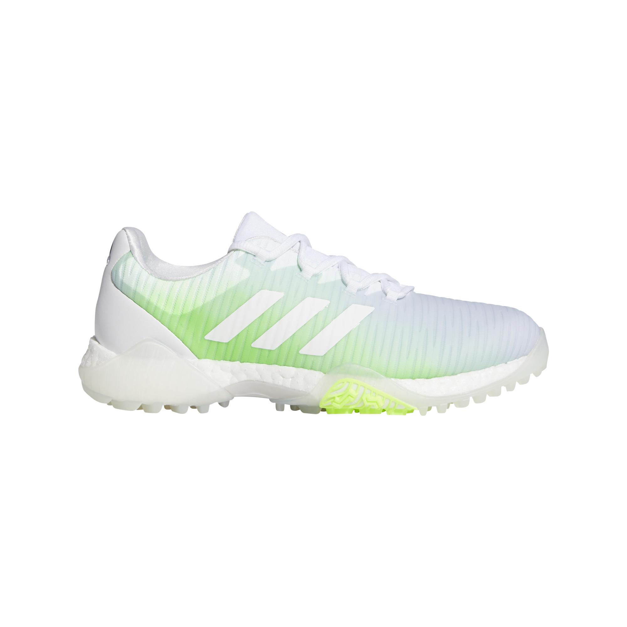 Women's CODECHAOS Spikeless Golf Shoe - White/Green